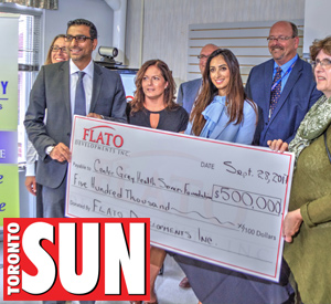 Flato Development donates $500,000 to Markdale Hospital