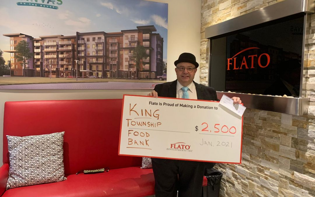 FLATO SUPPORTS FOOD BANKS AND COMMUNITIES