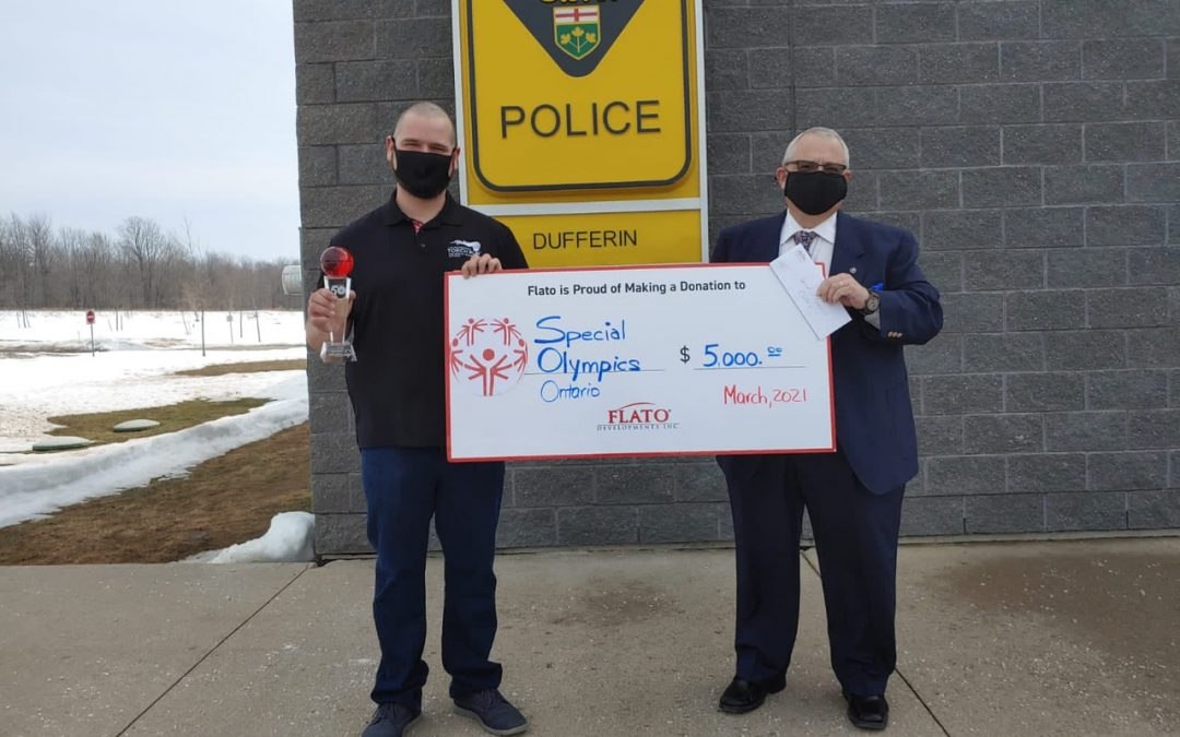 Flato Developments Helps Polar Plunge Raise Funds for Special Olympics